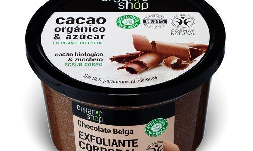 Scrub corpo Cacao Biologico & Zucchero – Organic Shop – Recensione
